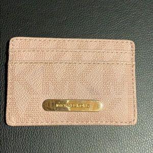 Michael Kors card wallet